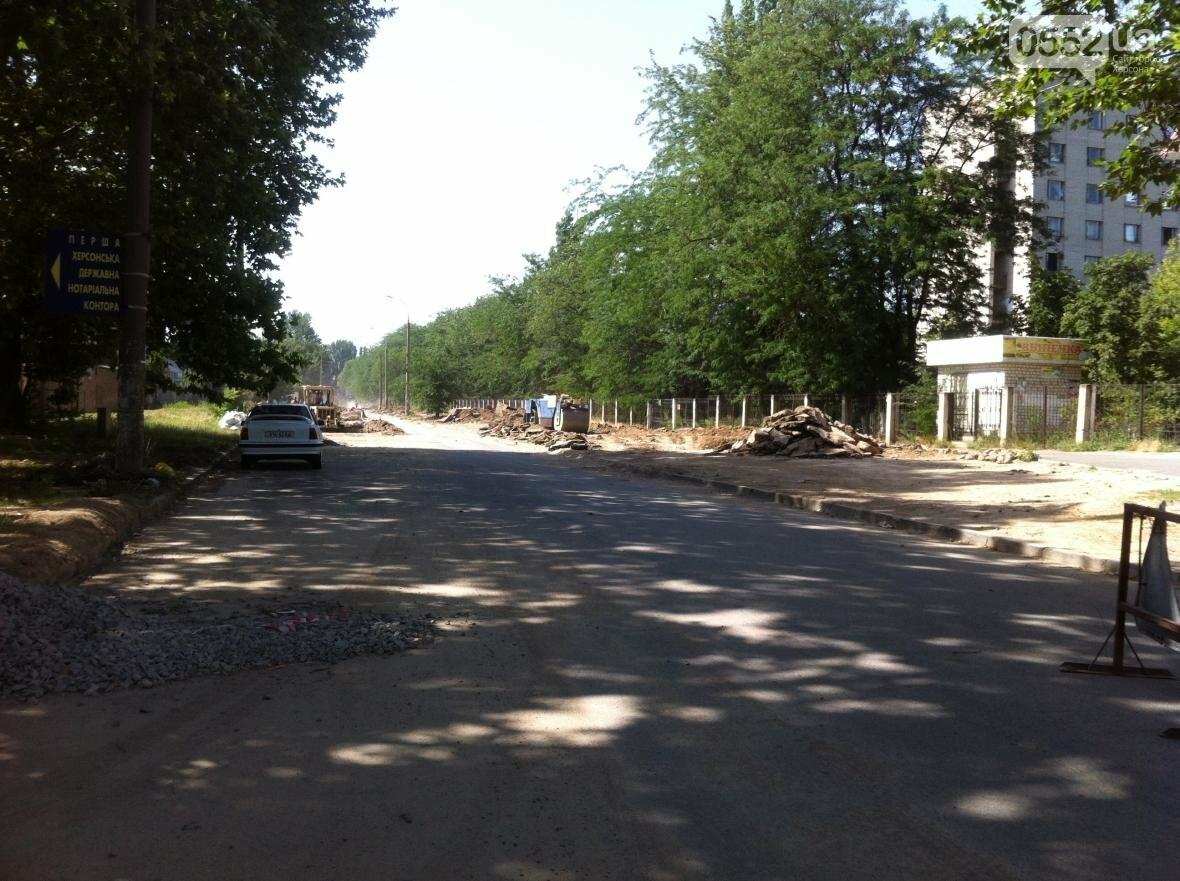 В Херсоне ремонтируют дорогу на улице Мира?, фото-1