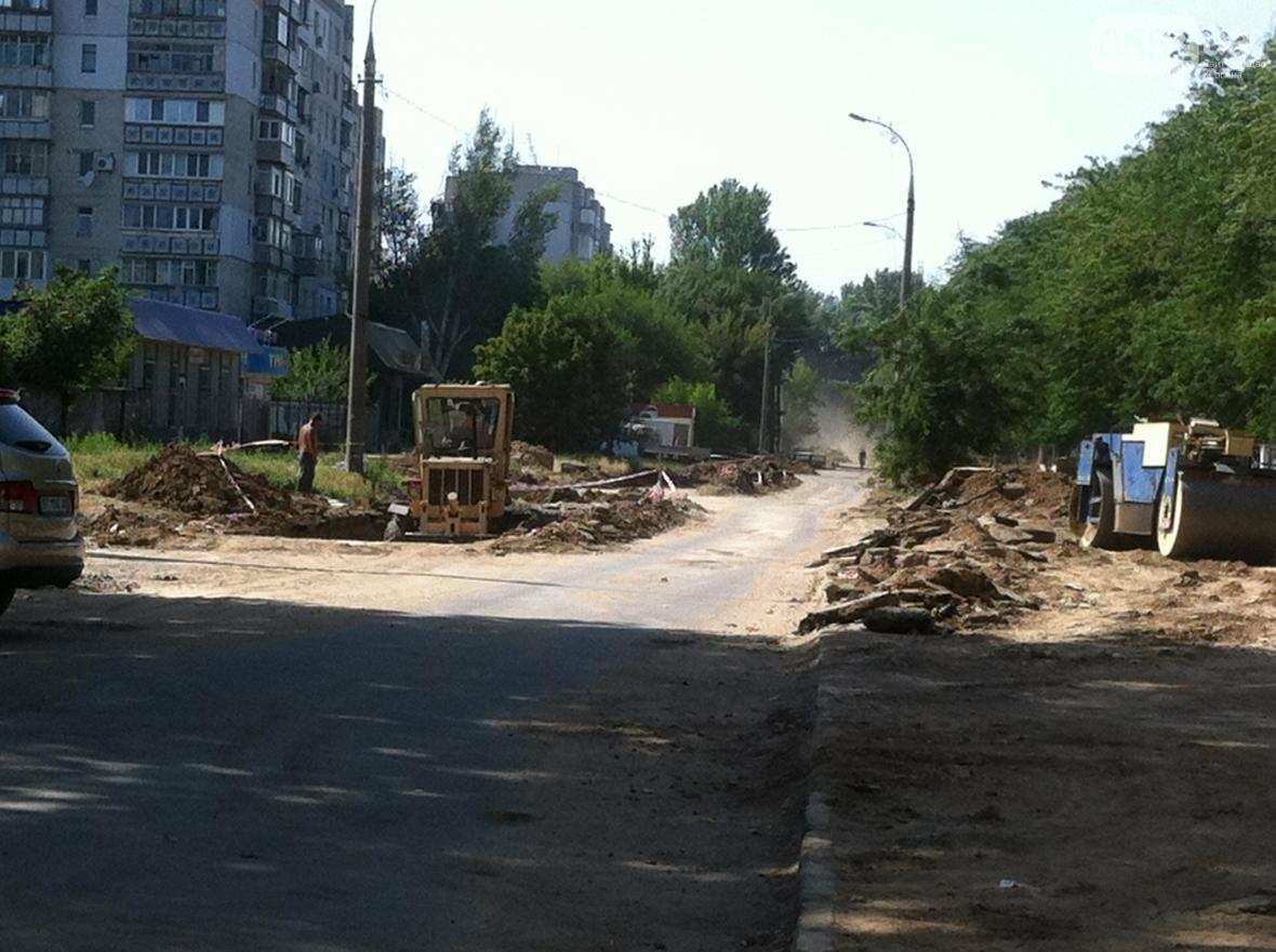 В Херсоне ремонтируют дорогу на улице Мира?, фото-3