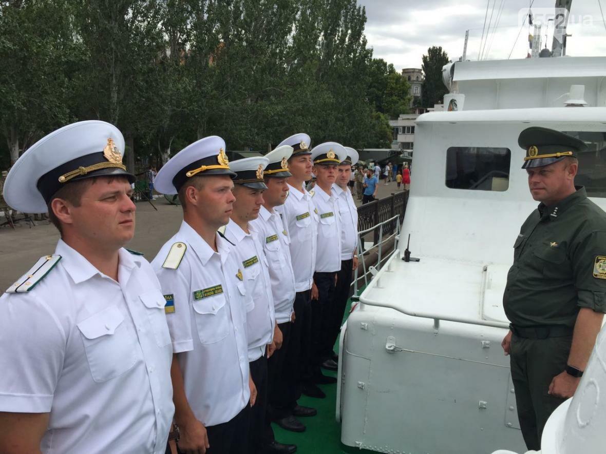 Прикордонники взяли участь у заходах до Дня ВМС, фото-3