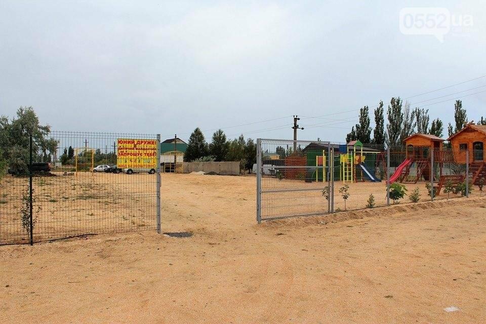 Херсонский курорт: то ли детская площадка на паркинге, то ли паркинг на детской площадке, фото-4