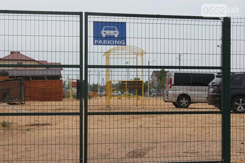 Херсонский курорт: то ли детская площадка на паркинге, то ли паркинг на детской площадке, фото-3