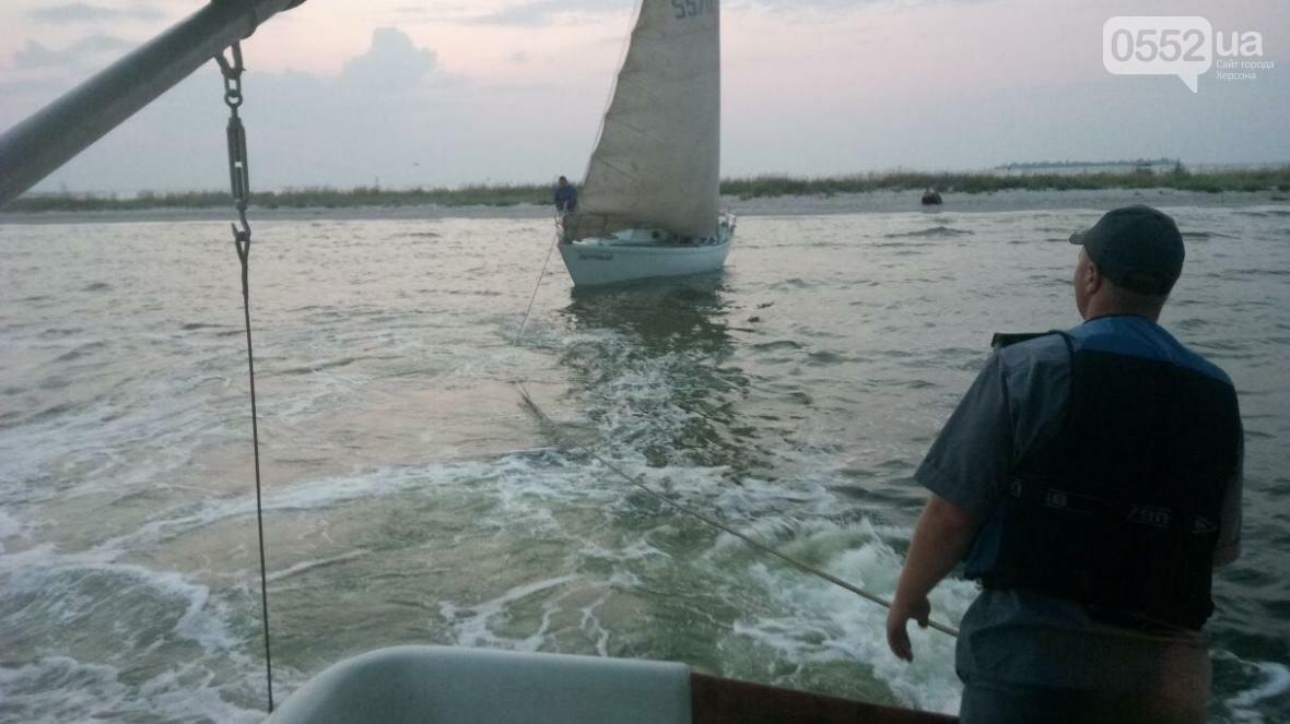 На Херсонщині рятували екіпаж яхти , фото-2