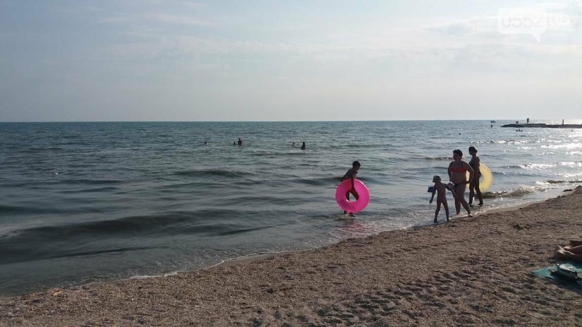 Туристка из Николаева рассказала об отдыхе на херсонском морском курорте, фото-1