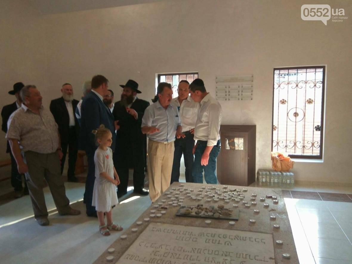 В Херсоне открыли мемориальный комплекс рабби Гилелю, фото-1