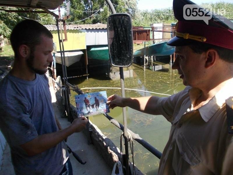 Херсонські рятувальники застерігають від небезпек на воді, фото-1