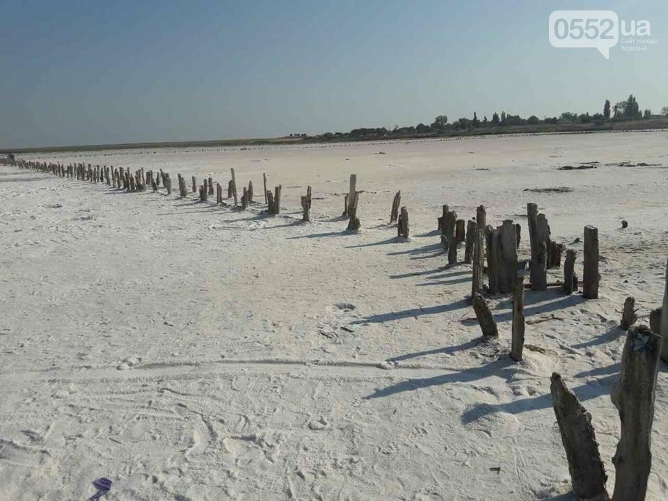 Уникальное соленое озеро на Херсонщине, фото-3