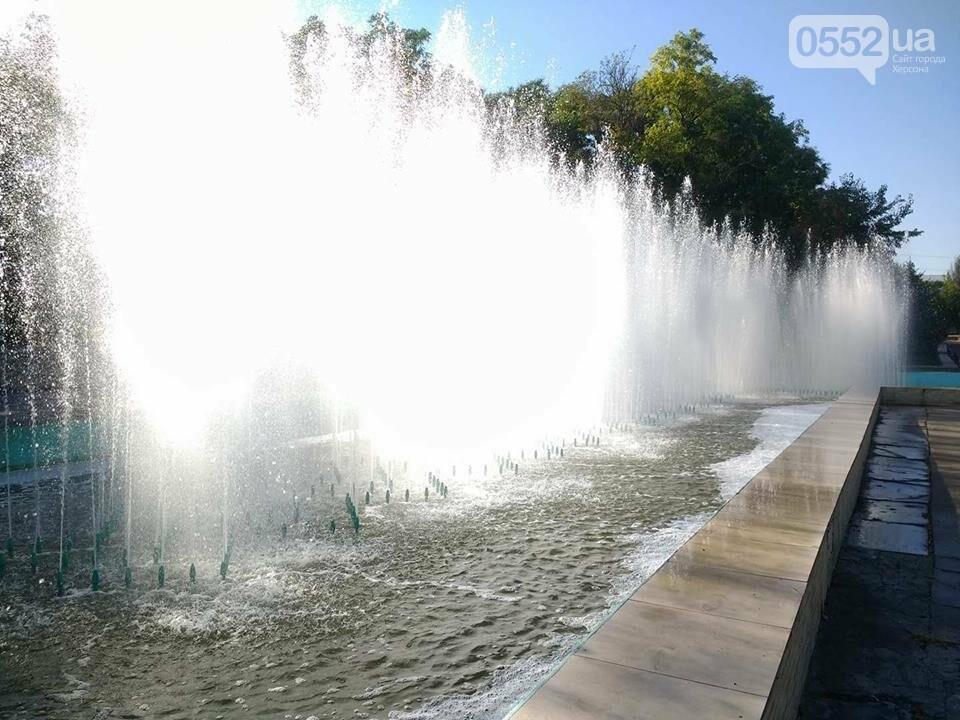 Херсонские фонтаны станут чище?, фото-1