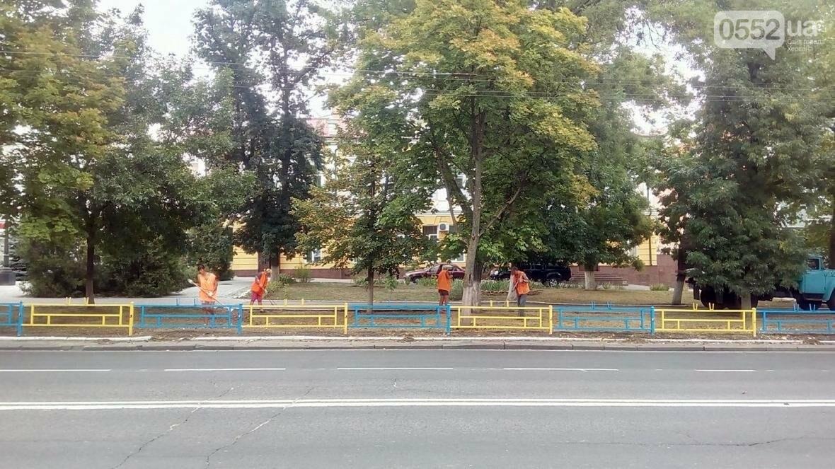 Херсонские коммунальщики готовят улицы к приезду Гройсмана, фото-1