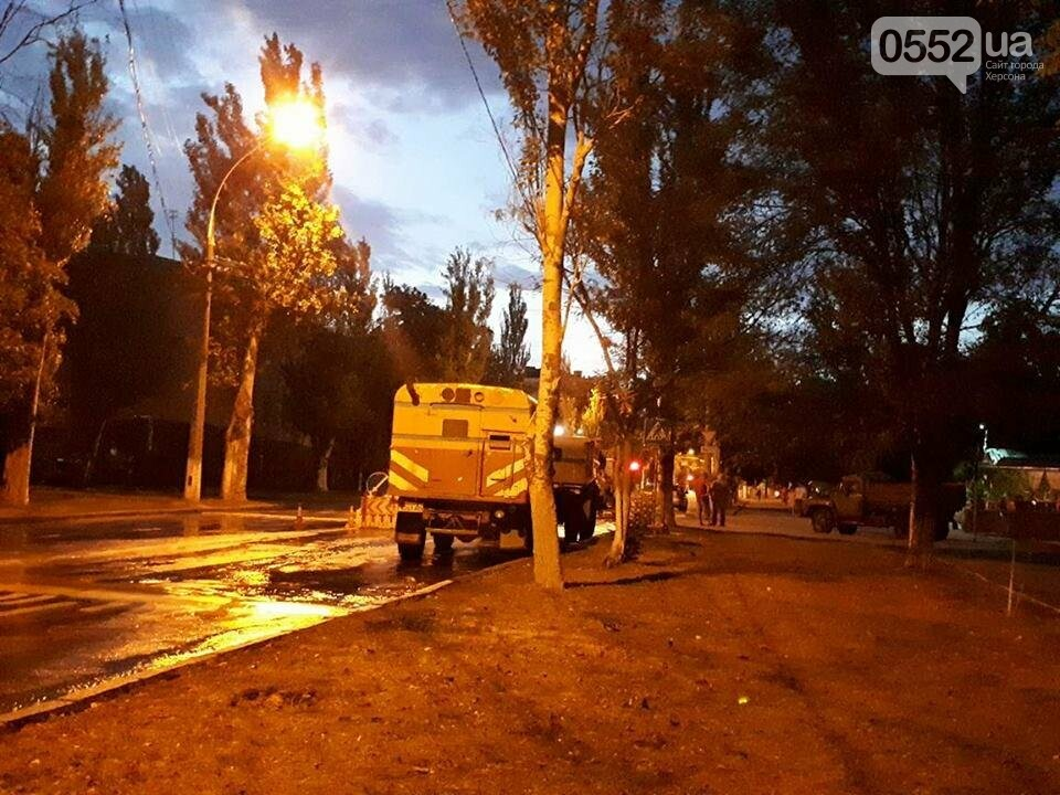 Херсонские сети водоснабжения дали течь (фото), фото-4