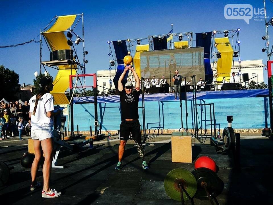 В Херсоне состоялись соревнования по Кроссфиту среди воинов АТО, фото-2