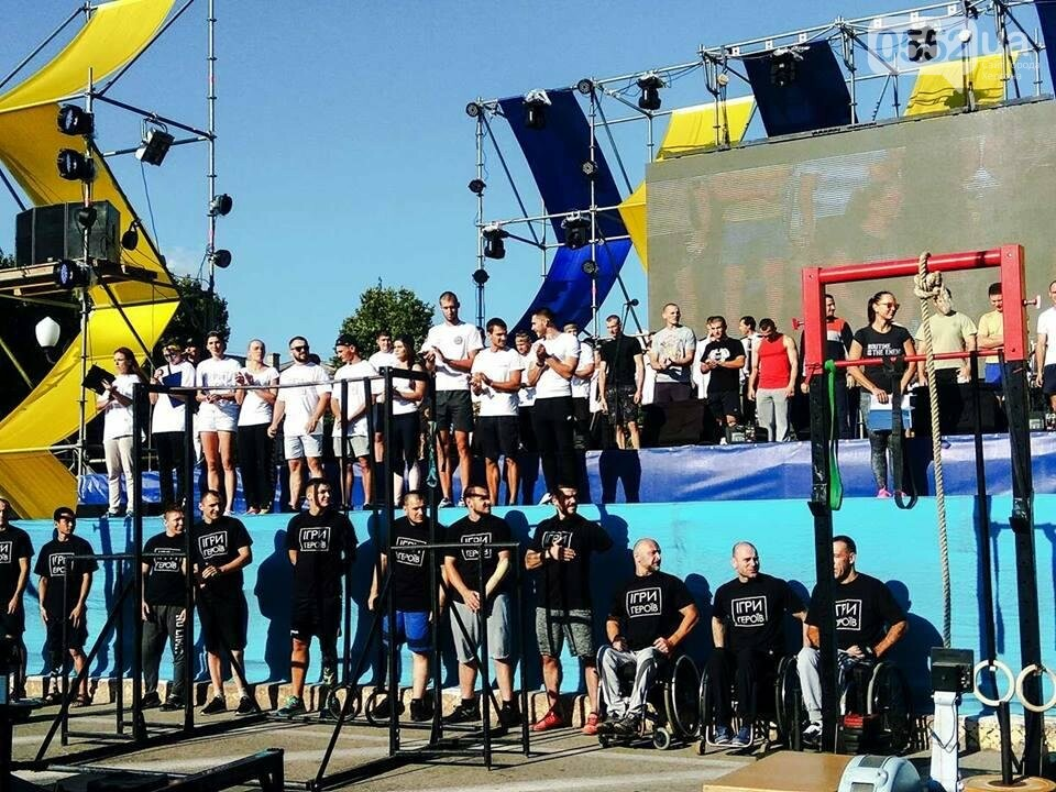 В Херсоне состоялись соревнования по Кроссфиту среди воинов АТО, фото-1