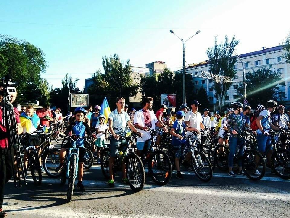 В Херсоне состоялся патриотический велопробег , фото-1