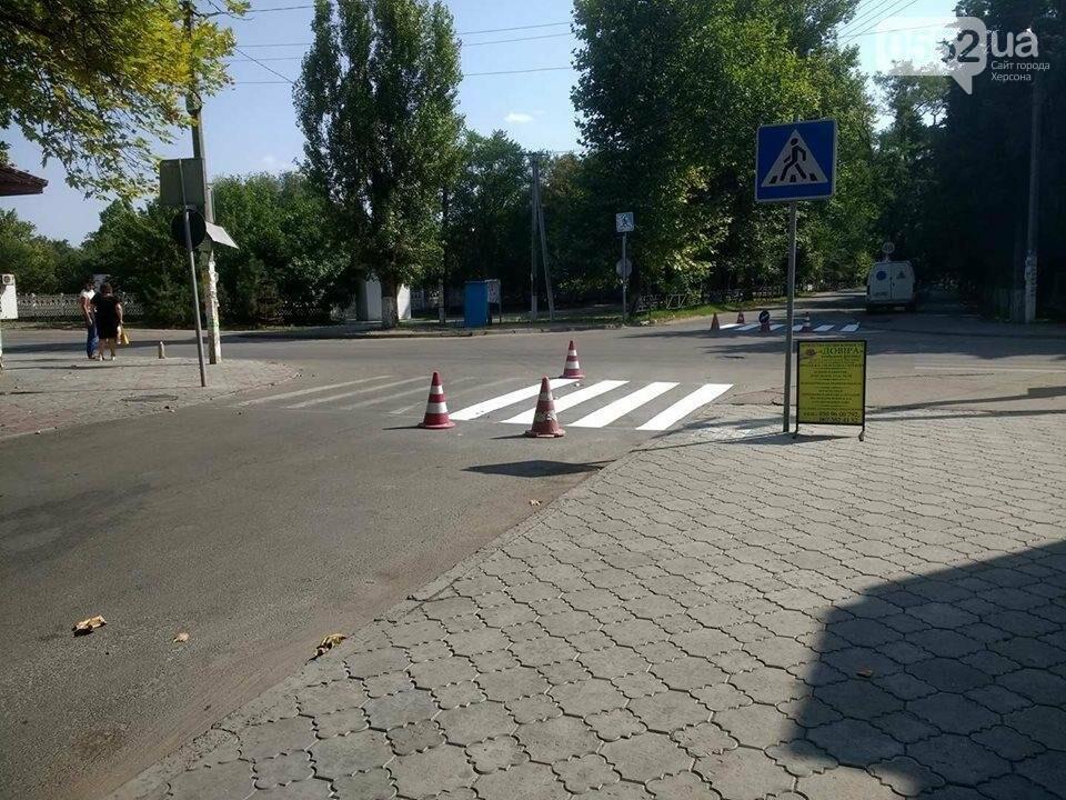 На Херсонщине подготовка к 1 сентября доставила автомобилистам огромные неудобства, фото-1