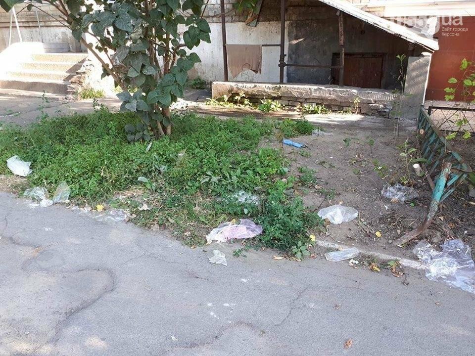Центр Херсона утопает в мусоре, фото-3