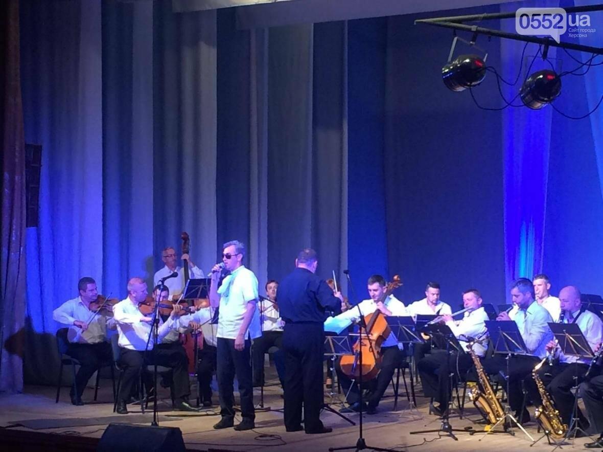В Херсоне люди с нарушениями зрения дали концерт, фото-2