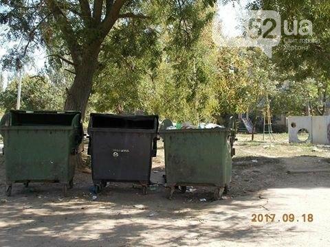 На одной из центральных улиц Херсона убрали мусор, фото-1