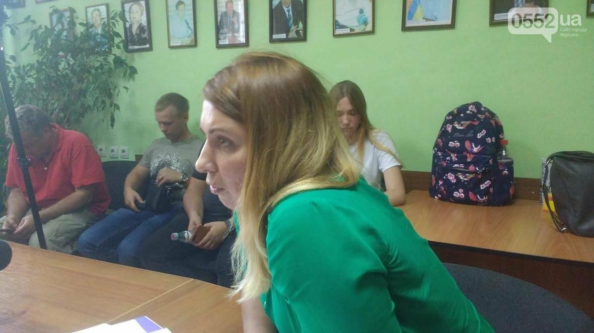 Хамство и ультиматумы: в Херсоне состоялась пресс-конференция фирм-перевозчиков, фото-5