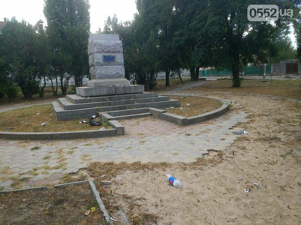 Жители райцентра Херсонщины возмущены досугом молодежи, фото-1