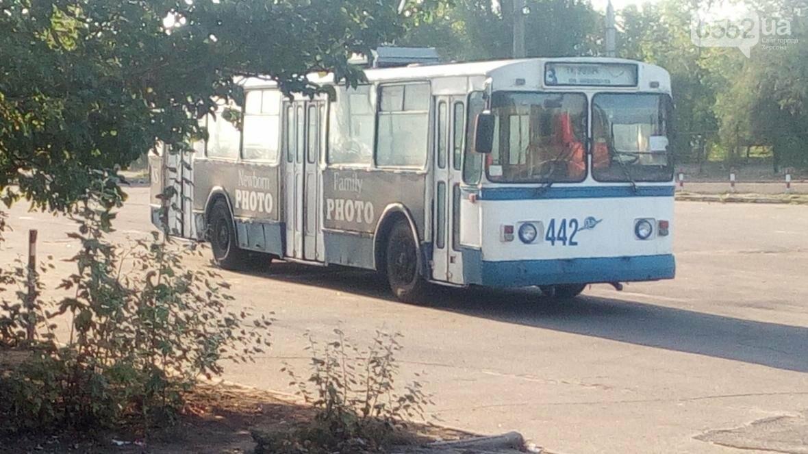 Херсонский троллейбусный парк находится в критичном состоянии?, фото-1