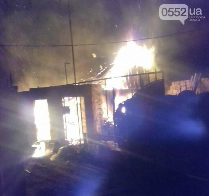 Новокаховські вогнеборці ліквідували пожежу в будинку, фото-1