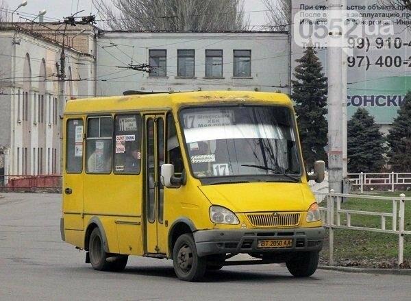 Херсонские маршрутчики игнорируют остановки?, фото-1
