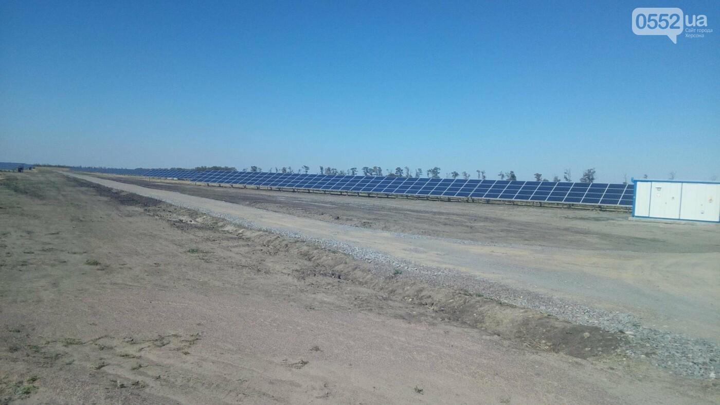В Херсонской области запустили новую электростанцию, фото-6