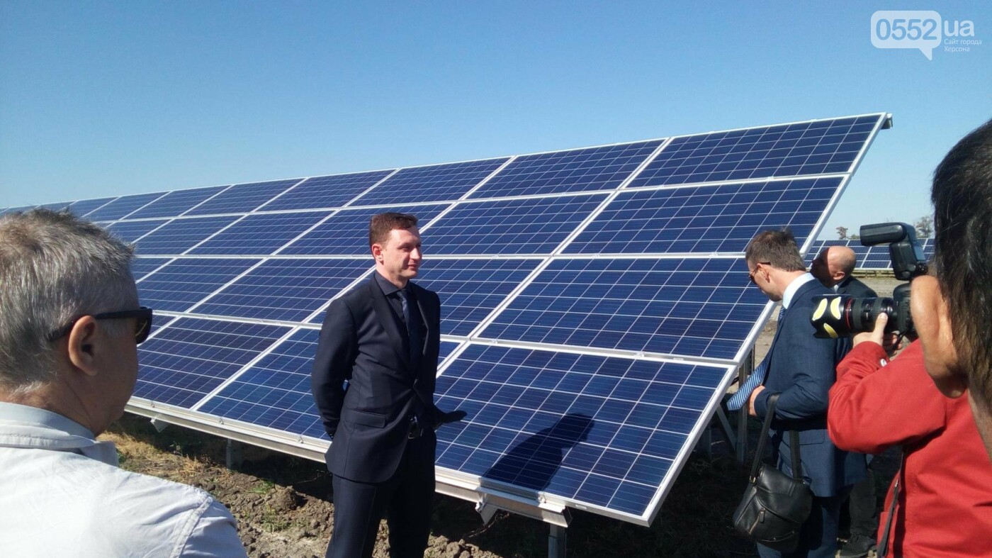 В Херсонской области запустили новую электростанцию, фото-1