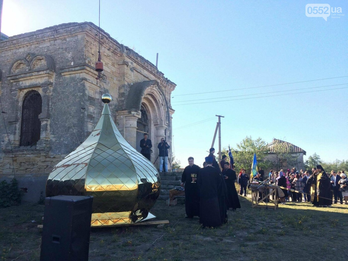 На Херсонщине восстанавливают православные святыни, фото-1