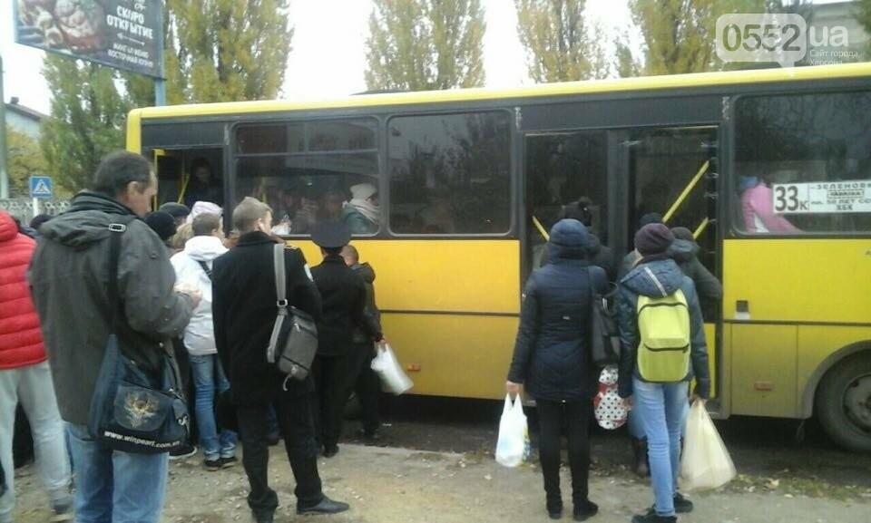 Херсонские маршрутчики продолжают хамить пассажирам (видео), фото-1
