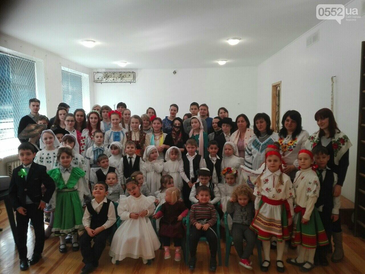 """У херсонській школі """"ХАБАД"""" відбулась відзначили День рідної мови, фото-1"""