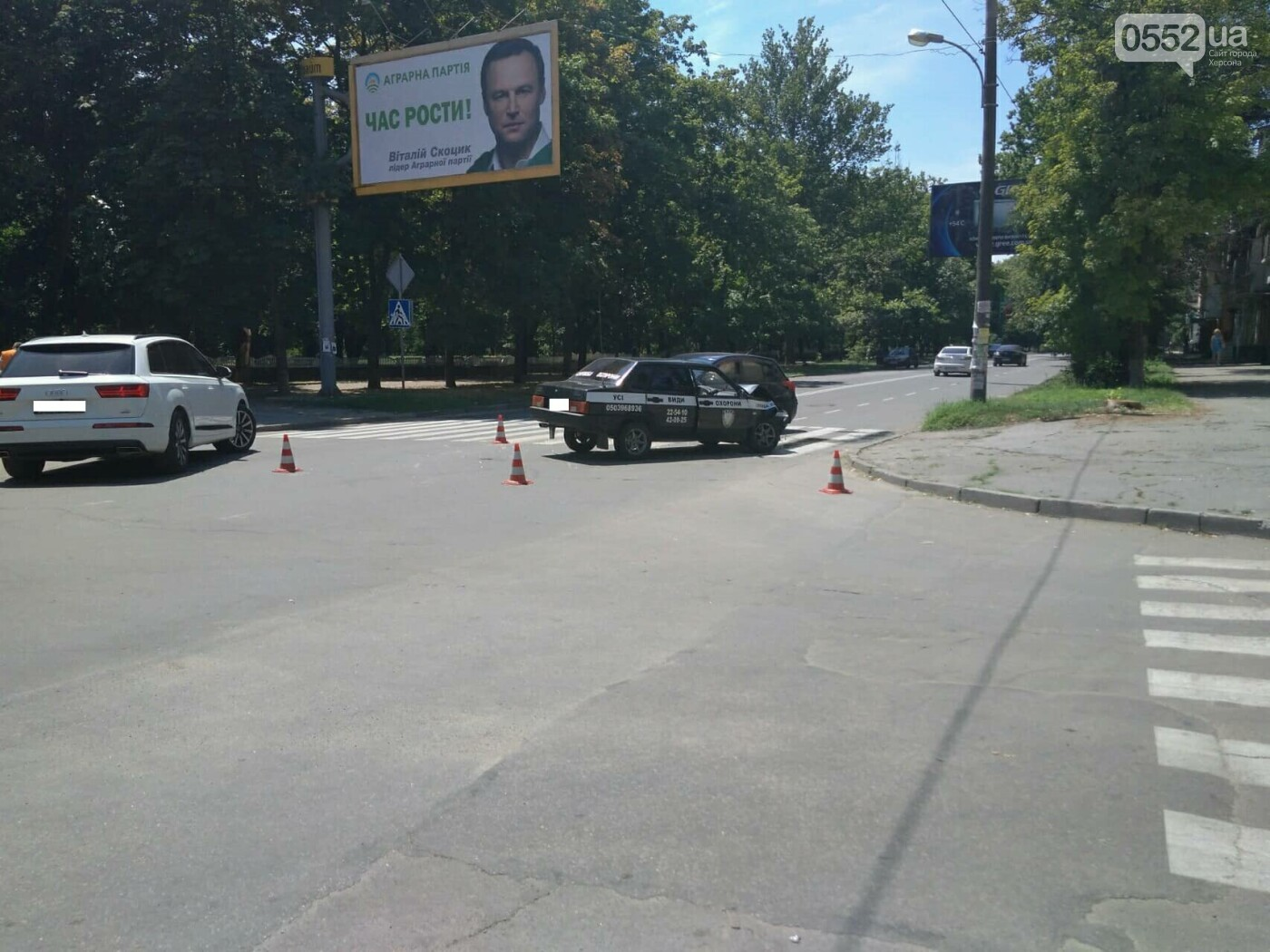 В Херсоне авария на пешеходном переходе (фото), фото-4