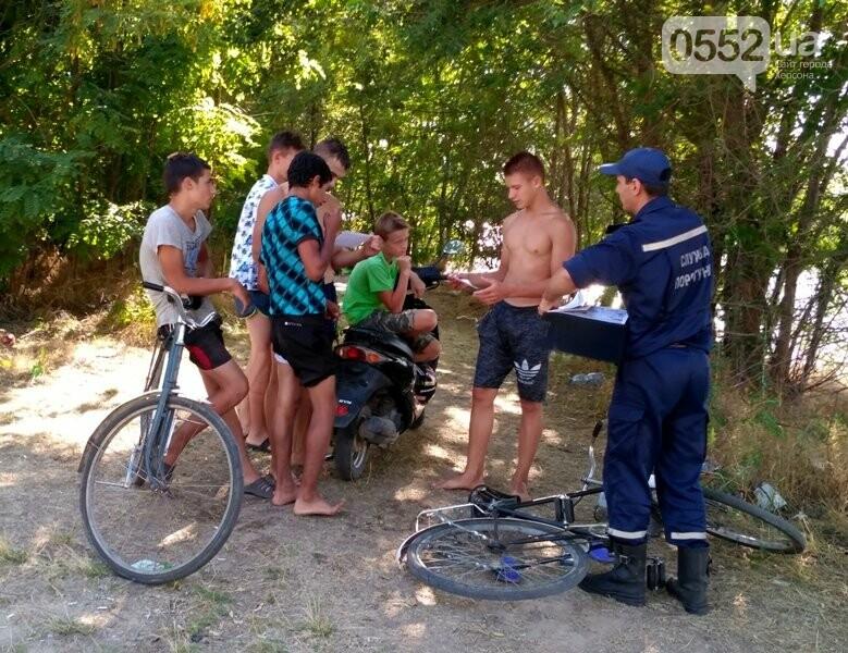 Каланчацькі рятувальники провели рейд по місцях відпочинку людей біля водних об'єктів, фото-2