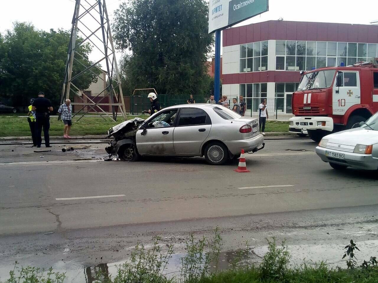 ДТП в Херсоне. Есть пострадавшие (фото), фото-5