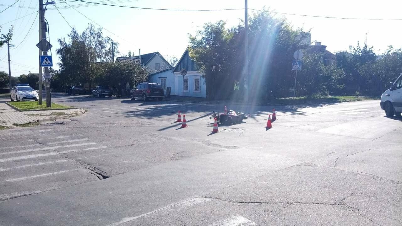 ДТП в Херсоне. Есть пострадавший (фото), фото-2