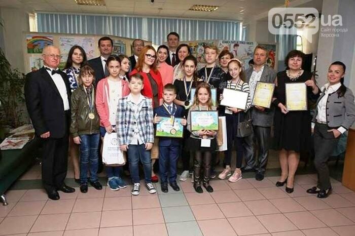 Школьник из Новой Каховки достойно представил Херсонщину на Всемирном телемарафоне, фото-1