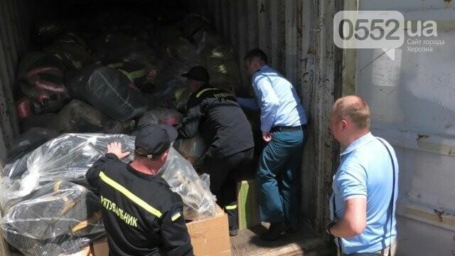 Спасатели Херсонщины получили груз «гуманитарки» из США , фото-3