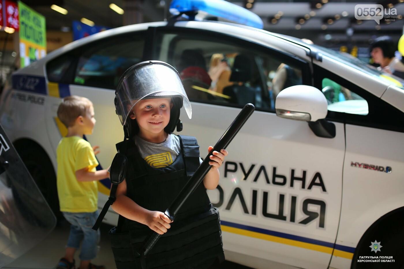 Полицейские подарили маленьким жителям Херсона отличный праздник в День защиты детей , фото-1
