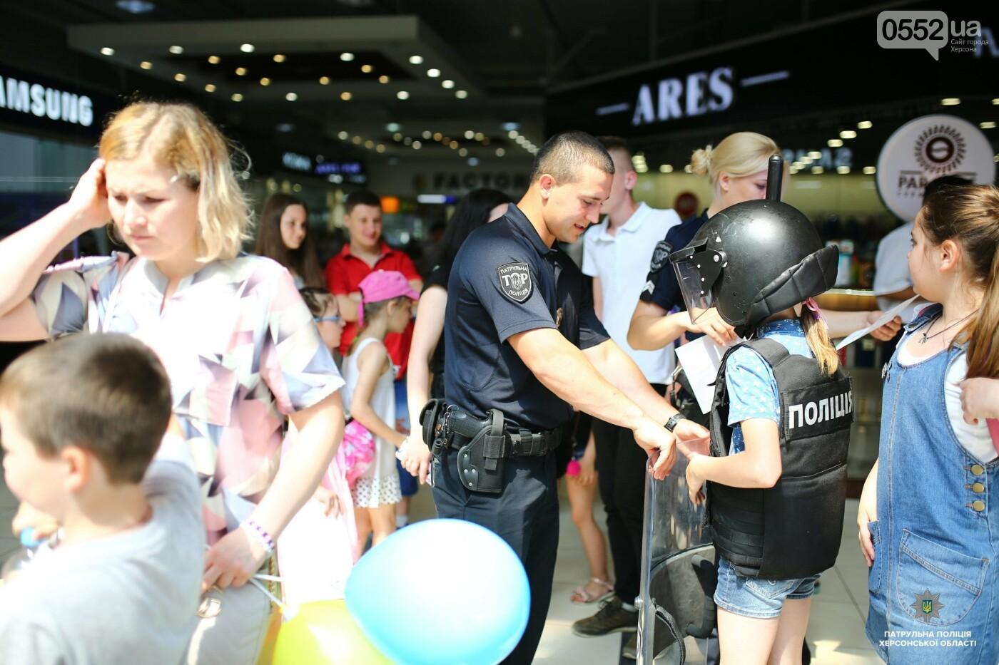 Полицейские подарили маленьким жителям Херсона отличный праздник в День защиты детей , фото-7