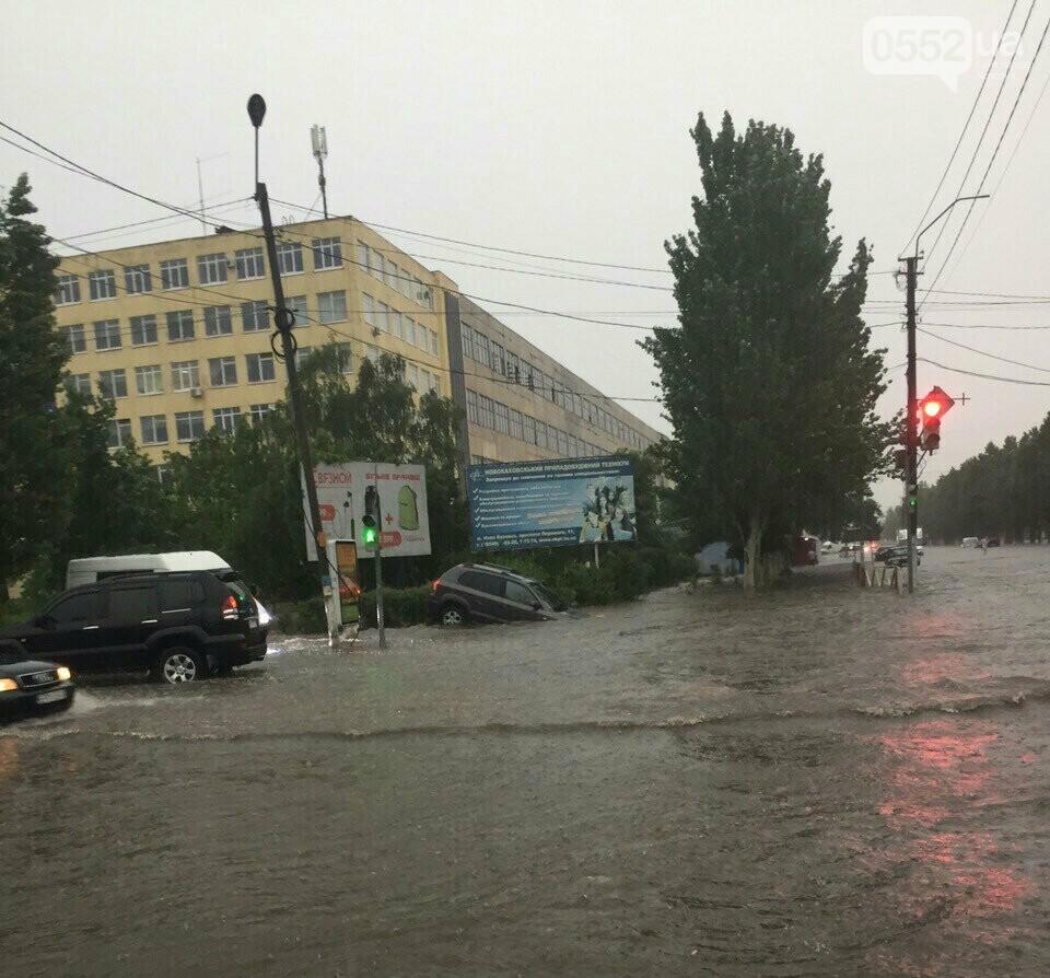 На Херсонщине ураганный ветер сорвал крыши с 50 домов и повалил свыше 100 деревьев, фото-1