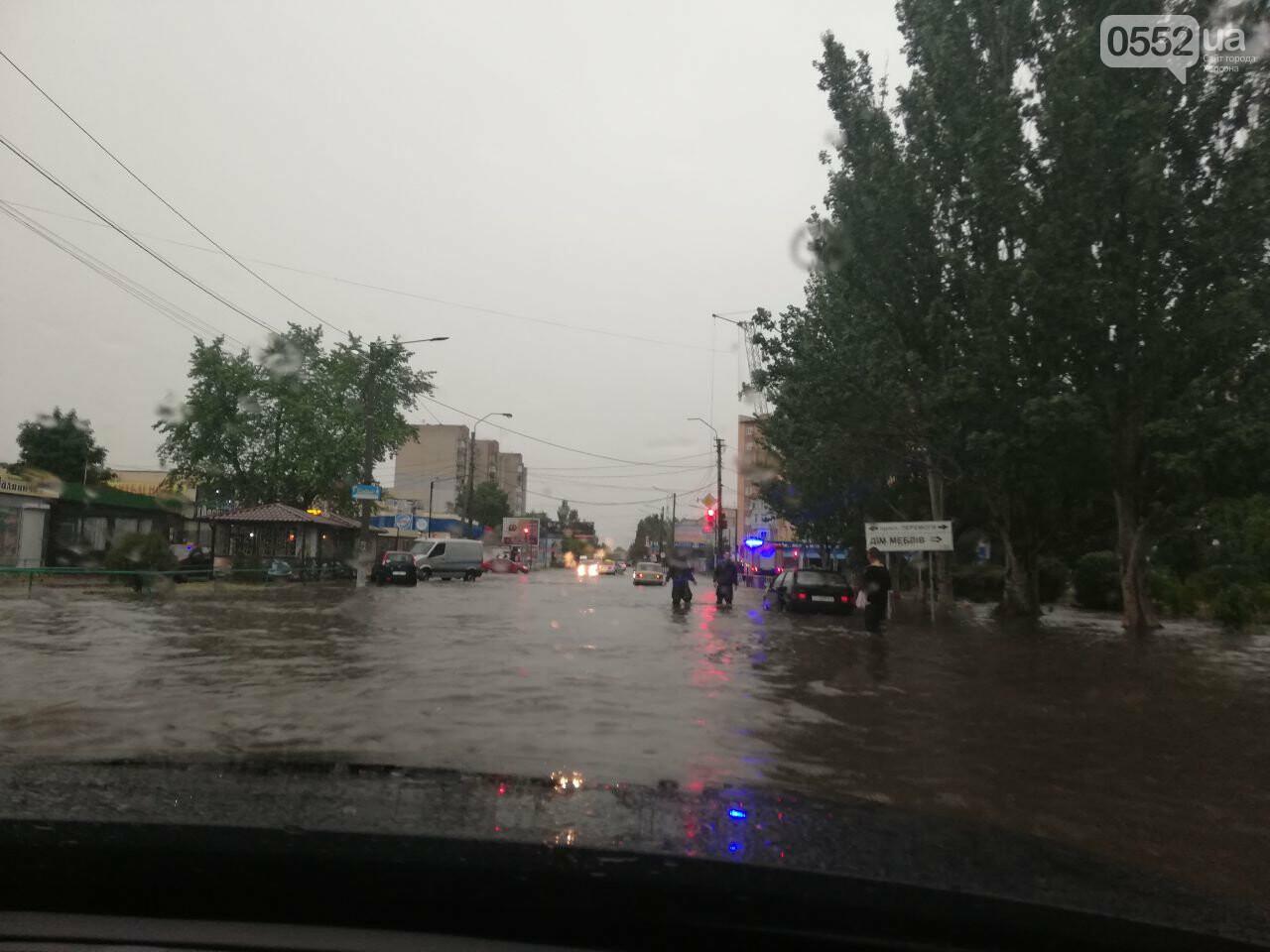 На Херсонщине ураганный ветер сорвал крыши с 50 домов и повалил свыше 100 деревьев, фото-3