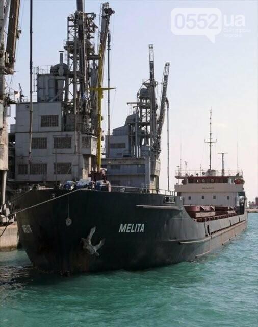 Шторм вынудил судно под российским флагом нарушить границу Украины в районе Херсонщины , фото-1