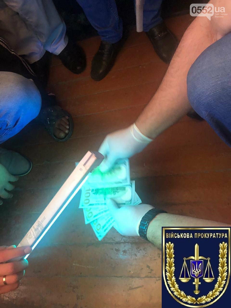 В Херсоне задержан на взятке военный прокурор: требовал 500 долларов с подчиненного , фото-2