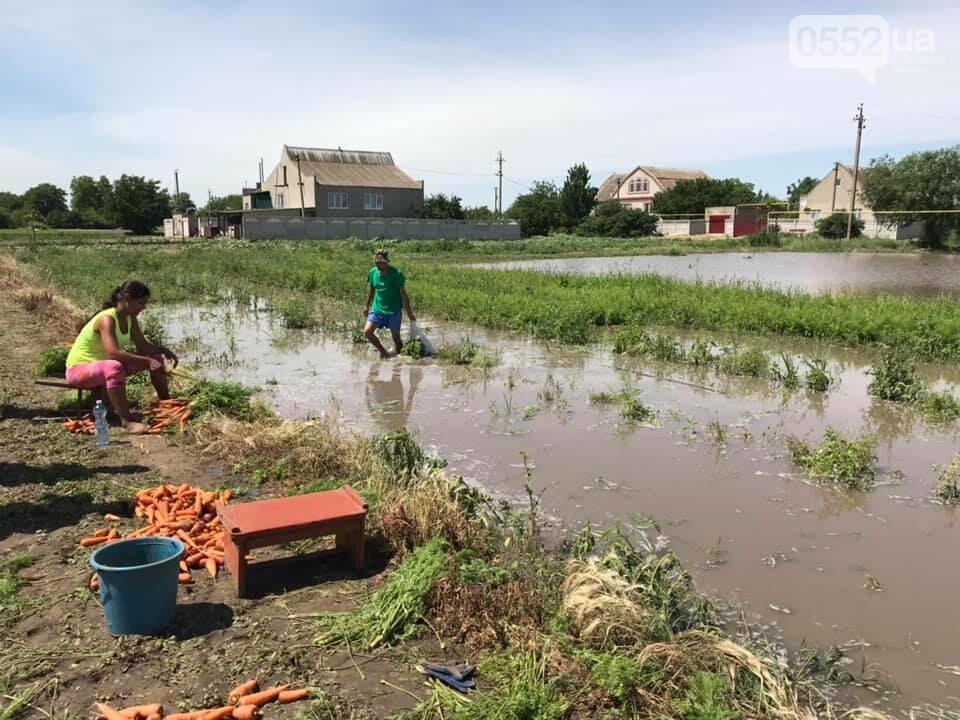 В сильно пострадавшее от грозы село на Херсонщины удалось вернуть электроснабжение, фото-2