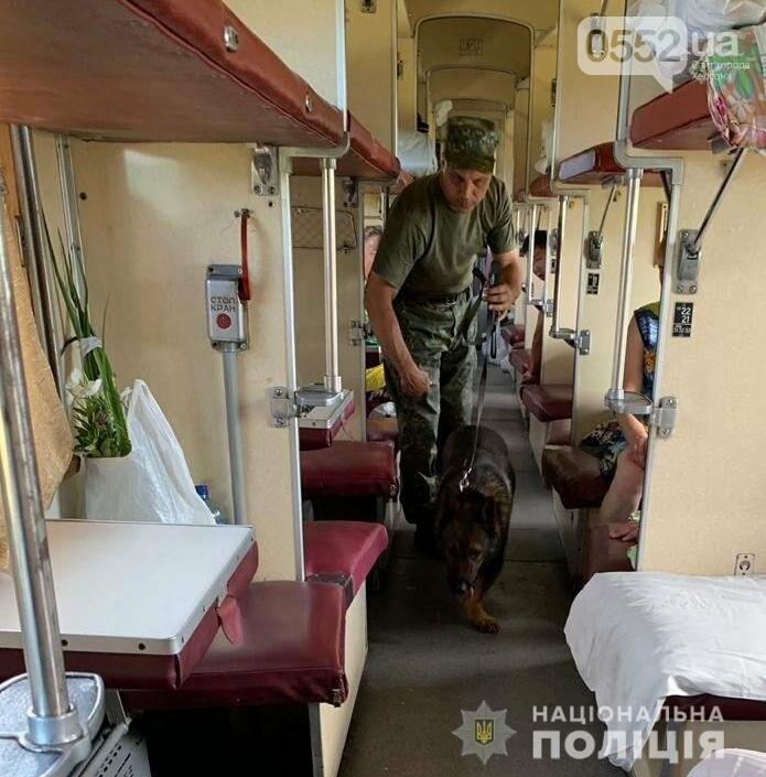 Полиция Херсонщины ищет взрывчатку и огнестрельное оружие в автобусах, поездах, на складах, фото-1