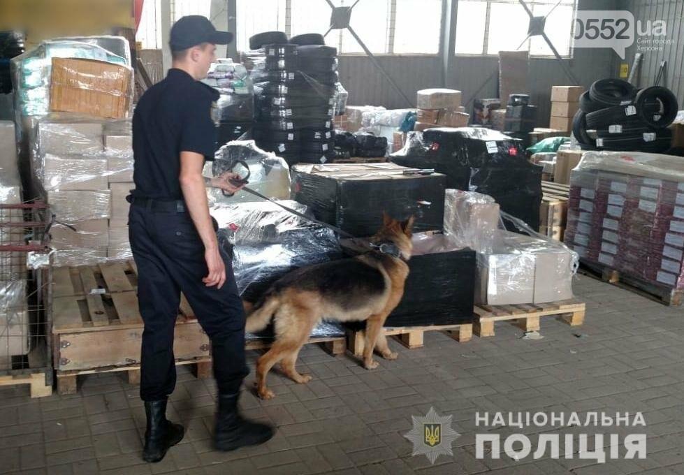 Полиция Херсонщины ищет взрывчатку и огнестрельное оружие в автобусах, поездах, на складах, фото-2