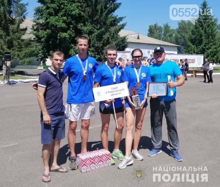 Херсонские полицейские вошли в ТОП призеров чемпионата Национальной полиции Украины, фото-3