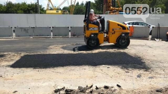 Строительство мостоперехода в Херсоне: проезд по Бериславскому шоссе возобновят в субботу, фото-2