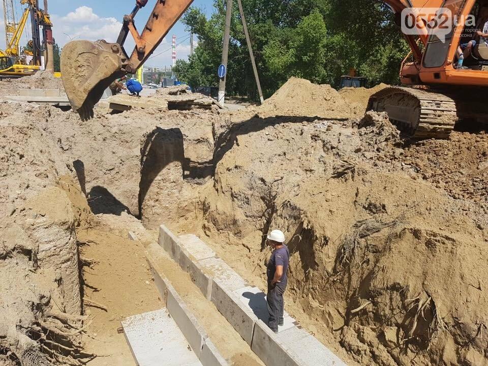Строительство мостоперехода в Херсоне: проезд по Бериславскому шоссе возобновят в субботу, фото-3