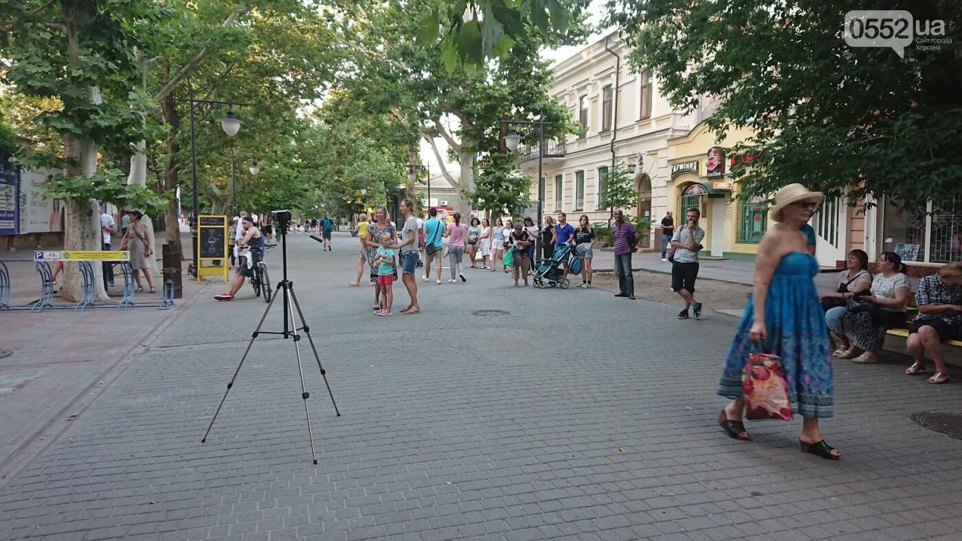 Туристическая кофейня ХерсON впервые в году провела музыкальный вечер на улице, - ФОТО, фото-4