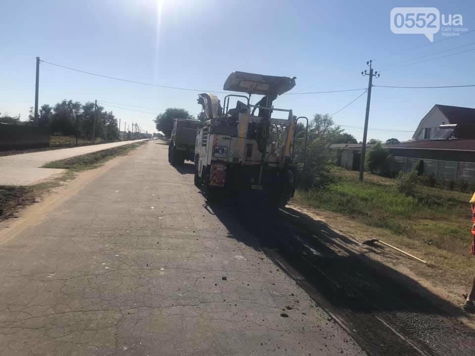 В курортной зоне у Черного моря на Херсонщине ведут капитальный ремонт дороги, фото-2